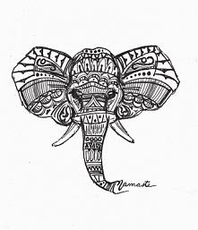 rysunek słonia