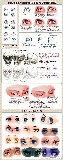 Jak narysować oczy .