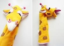 Pacynka żyrafa, design Lady...
