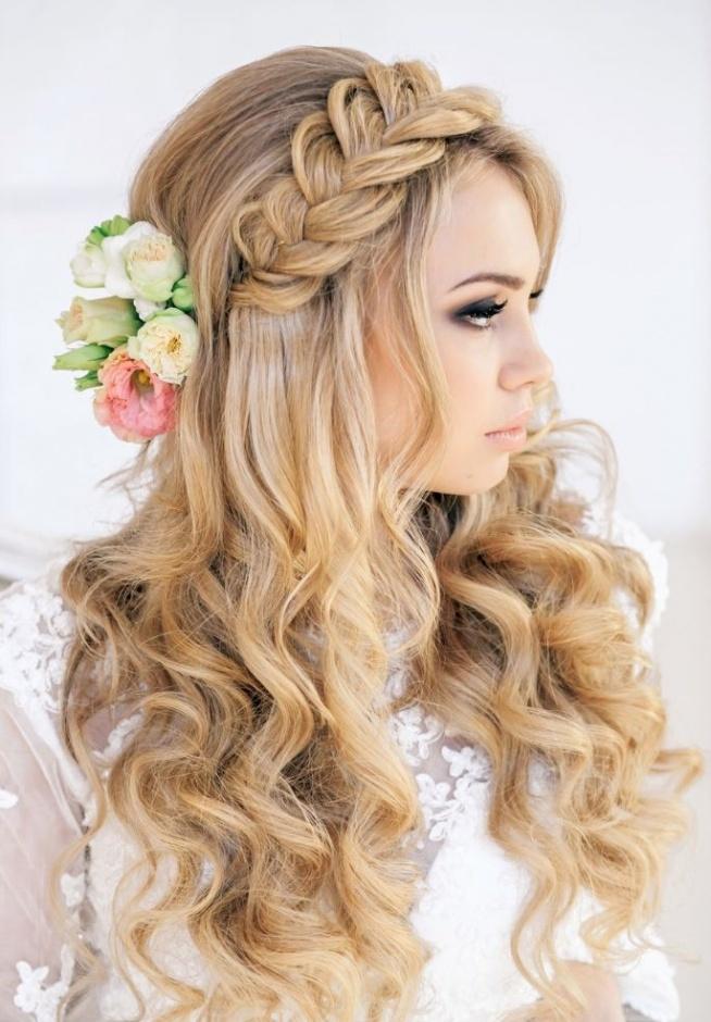 Piękna I Romantyczna Fryzura Na Fryzury ślubne Zszywkapl