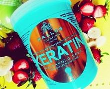 Maska do włosów Kallos Keratin z wyciągiem keratyny i proteiny mlecznej - więcej na lifepolishgirl.blogspot.com