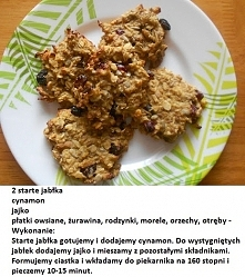 zdrowe ciasteczka :)