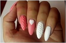 Sweterkowe paznokcie krok p...
