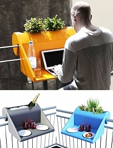 BalKonzept by Rephorm provides the perfect solution for working on your balcony.