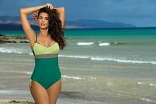 Marko - Kostium kąpielowy Whitney Balsamo-Germoguo-Fango M-253 Zielono-pistacjowy (225)