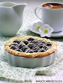 Tartaletki czereśniowe z czekoladą