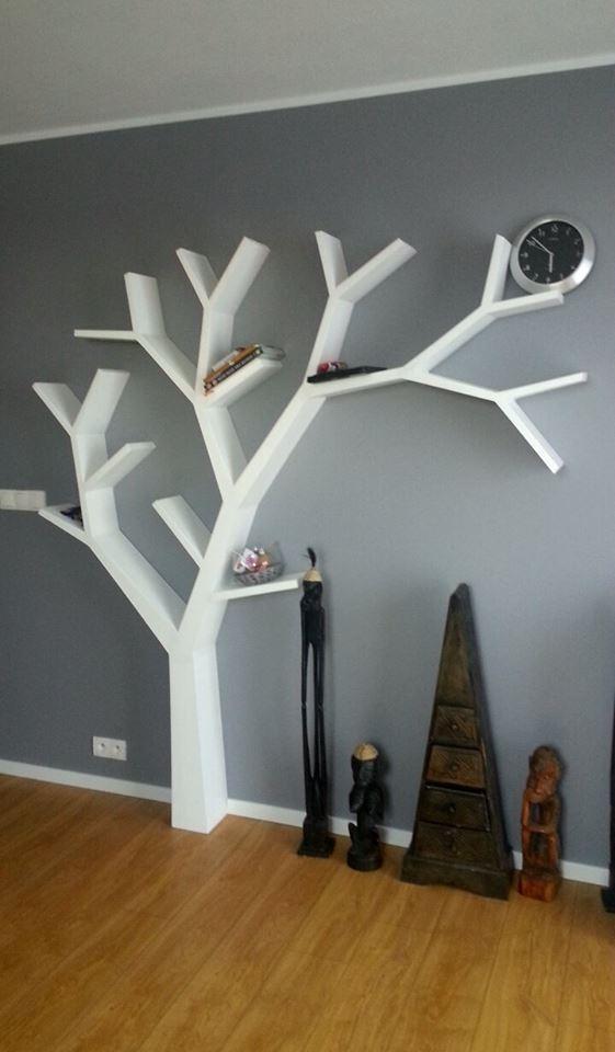 Półka jak drzewo 210x200x18cm Moja 50 realizacja:) Koszty realizacji podobnego projektu od 1 000zł marcin.stelma@gmail.com
