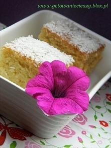 Lekkie ciasto z mleczkiem k...