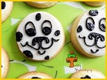 Ciasteczka maślane dalmatyń...