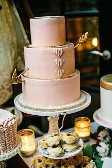 Piękny tort ślubny :)