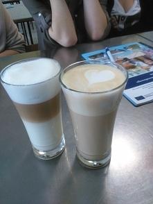 Latte macchiato i latte <3
