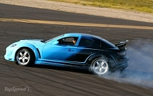 """Jakiś """"Need for speed"""" i MAZDA RX8"""