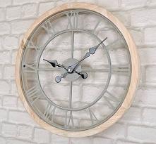 genialny zegar na ścianę, g...