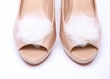 Klipsy do butów Ballerina's Tutu-White  Do kupienia w sklepie internetowym Madame Allure! >>> link w komentarzu <<<