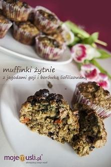 Przepis na zdrowe muffinki po kliknięciu w zdjęcie:)