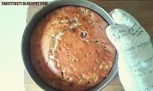 Proste ciasto z wiśniami i białą czekoladą :)