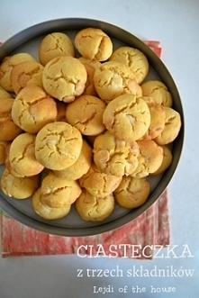 Ciasteczka z trzech składników... Przepis po kliknięciu! ;)