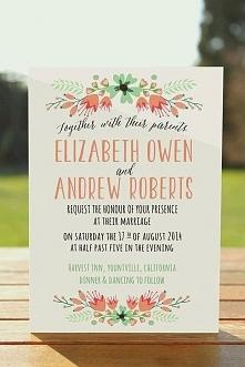 zaproszenia ślubne :)