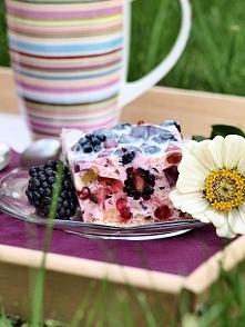 """""""Meduza""""- ciasto bez pieczenia Składniki ok. 150 g herbatników 400 ..."""