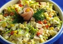 1 duży por     150 gramów szynki     100 gramów sera żółtego     3 jaja na tw...