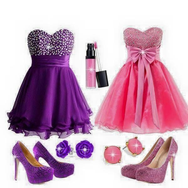 takie stylizacje dwie... sukienki mi się bardzo podobają a wam ?