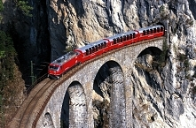 Landwasser Viaduct, Szwajcaria