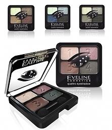 Eveline, Quattro Eyeshadow (Poczwórne cienie do powiek)  Ta paletka mnie urze...