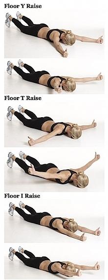 Ćwiczenia na ramiona i plecy.
