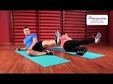 Ćwiczenia odchudzające na uda i pośladki/ początkujący
