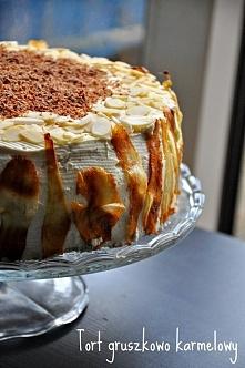 Tort toffi-gruszka  Przepis po kliknięciu w zdjęcie :)