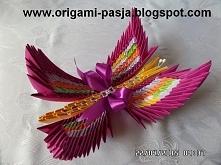 Motyl wykonany z origami mo...
