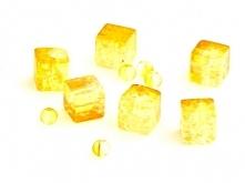 Koraliki Szklane Crackle Ko...