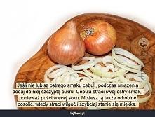 Jak złagodzić ostry smak cebuli?