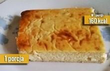 Bananowy sernik dla kulturysty  Składniki: 1 jajko kurze 2 szt serka wiejskiego 1 łyżeczka soku z cytryny 1 łyżka odżywki białkowej KULTURYSTA.COM 100% Whey Protein Professional...