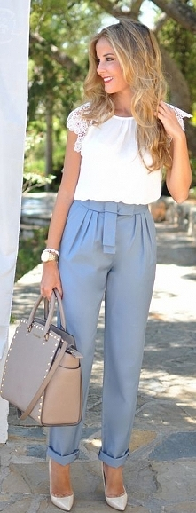 Business Lady Casual Style ...