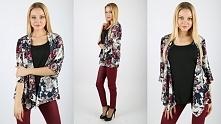 Modne kimono w kwiaty idealne na wiosnę do kupienia w naszym internetowym sklpie Only4girls! Zapraszamy!