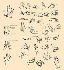 Od zawsze mam problem z rysowaniem dłoni :(
