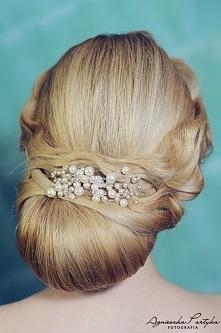 Perełki do ślubnej fryzury ...
