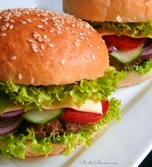 Domowy Cheeseburger - Najlepszy!! - przepis po kliknięciu w zdjecie