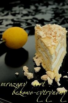 niedziela, 15 lutego 2009 MROŻONY TORT BEZOWO-CYTRYNOWY   DODAJ DO ULUBIONYCH  KOMENTARZE (317)  Mrożony tort bezowo-cytrynowy  Jeden z najbardziej niesamowitych tortów, jaki j...