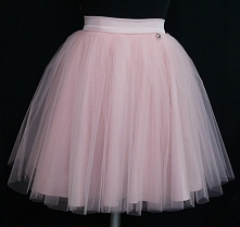 538b4d65c8a6e1 Tiulowa spódniczka w kolorze pudrowego różu. Szyta na wymiar. Zapraszam.