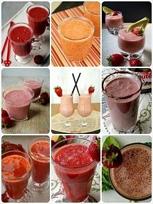 Koktajl truskawkowy ♥ 15 przepisów po kliknięciu w obrazek