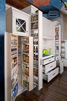 Dobrze zorganizowana kuchni...