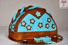 Torebka - tort czekoladowy....