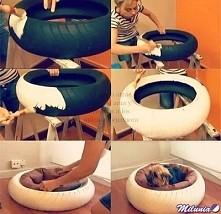 Łatwe i praktyczne legowisko dla małego psa :**