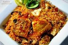 Indyjskie Fish Biryani