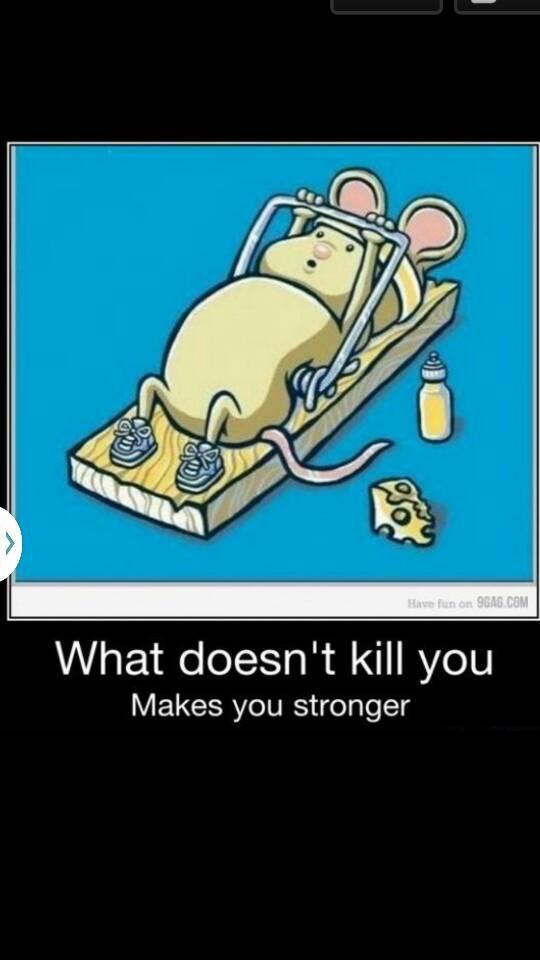 Co Cie Nie Zabije To Cie Wzmocni D Na Ha Ha Ha