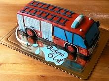 słodki wóz strażacki