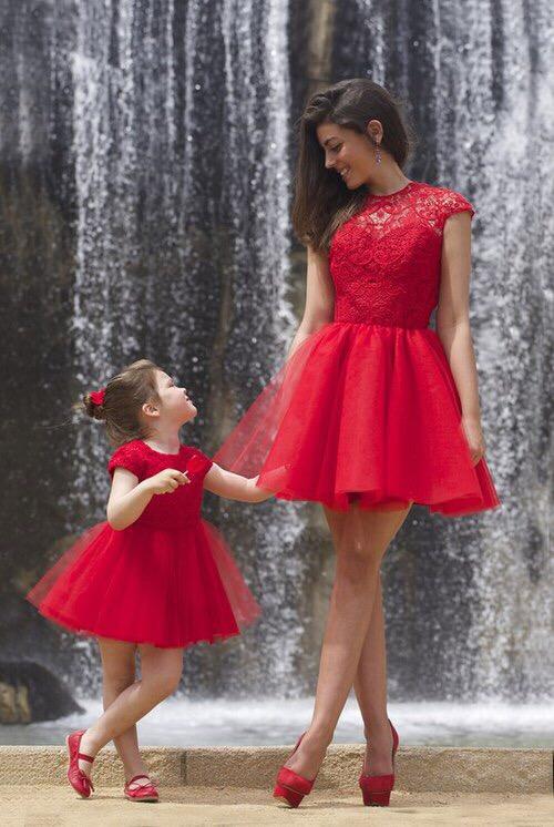 Le Labbra Fashion Sukienki Na Miarę Matka I Córka śliczna C Na