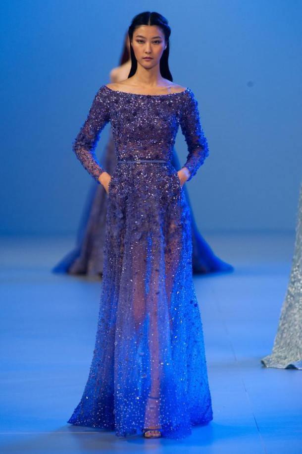 *** Elie Saab Paris Haute Couture Fashion Week - Spring 2014 ***